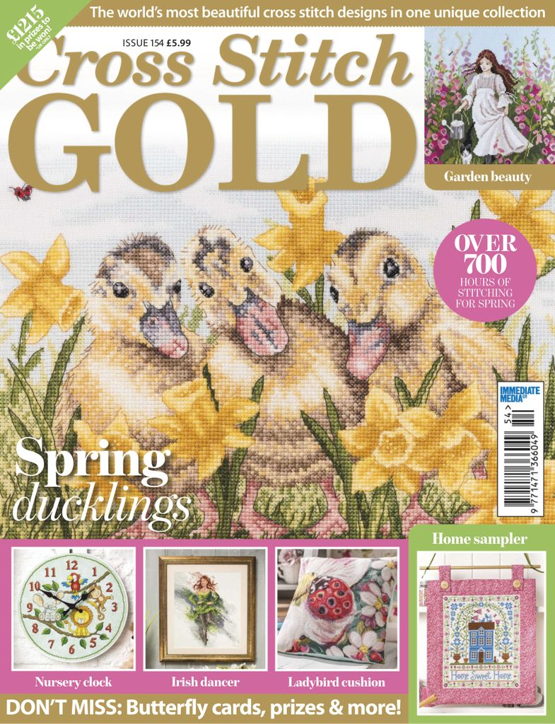 Cross Stitch Gold - March 2019
