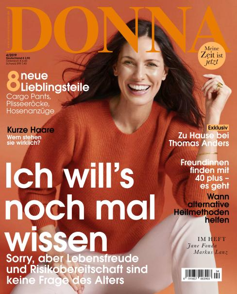 Donna Germany - April 2019