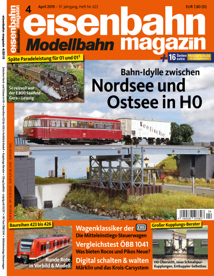 Eisenbahn Magazin - April 2019