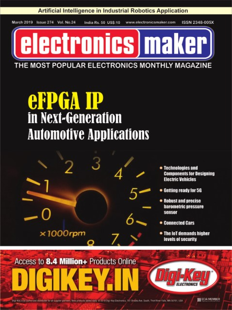 Electronics Maker - March 2019