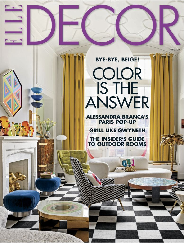Elle Decor USA - April 2019