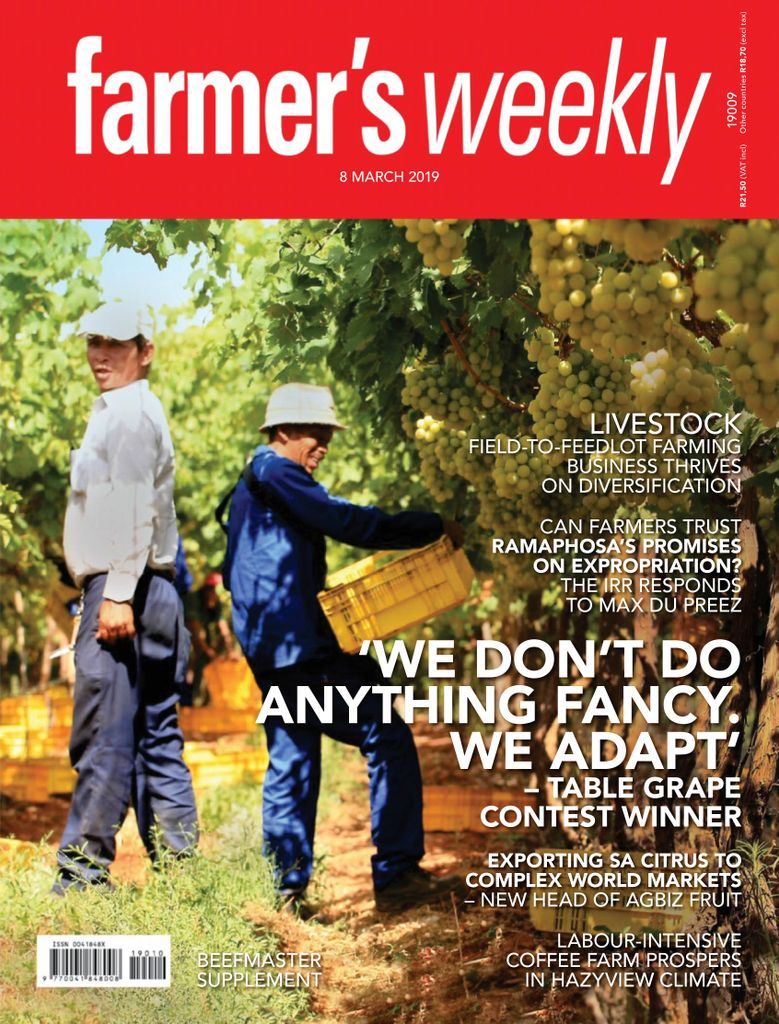 Farmer's Weekly - 08 March 2019