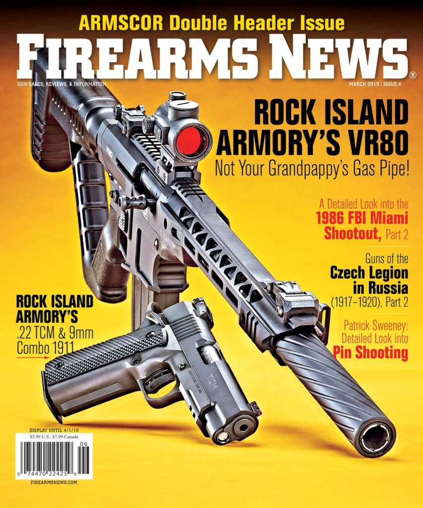 Firearms News  - March 15, 2019