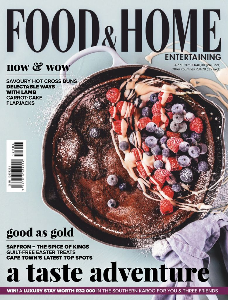 Food & Home Entertaining - April 2019