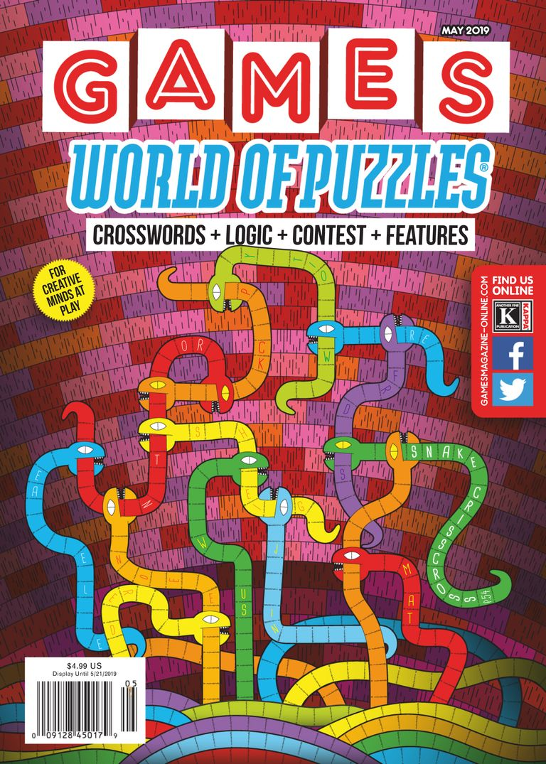 Games World of Puzzles - May 2019