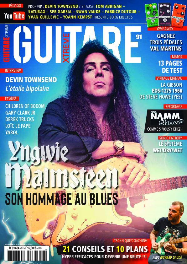 Guitare Xtreme - mars/avril 2019