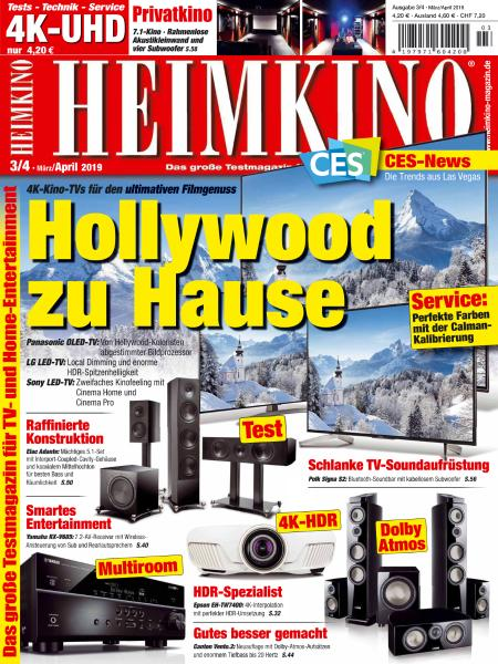 Heimkino - März-April 2019