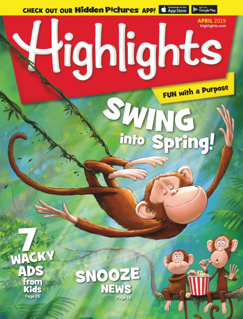 Highlights for Children - April 2019