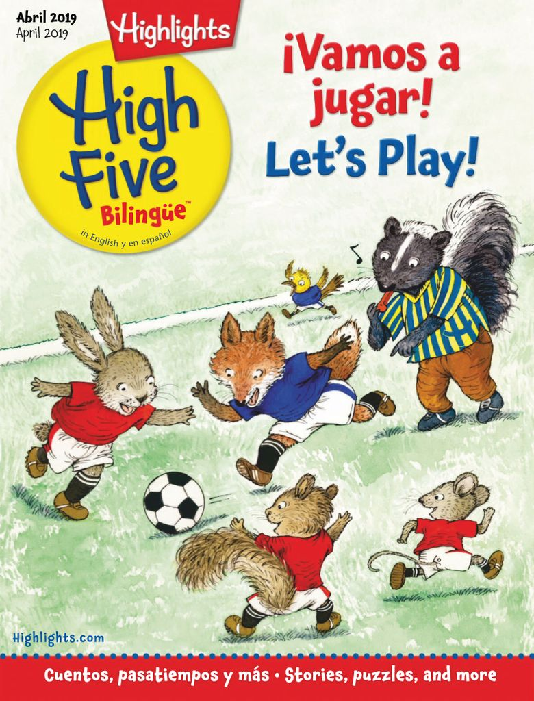 Highlights High Five Bilingue - April 2019