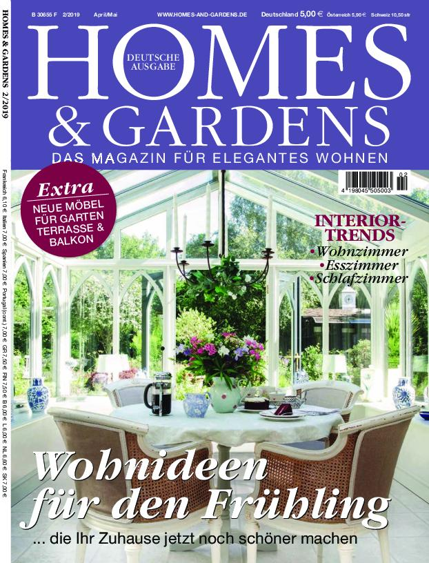 Homes & Gardens Germany - März 2019