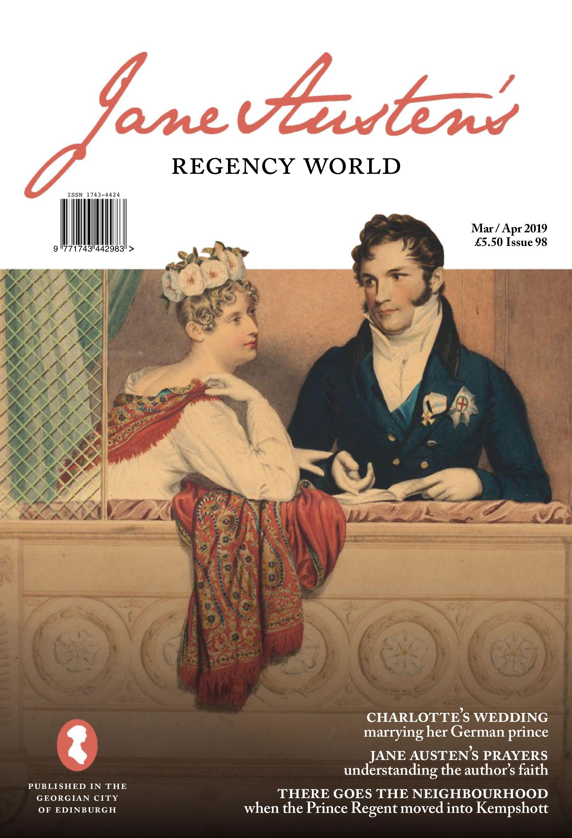 Jane Austen's Regency World - March 01, 2019