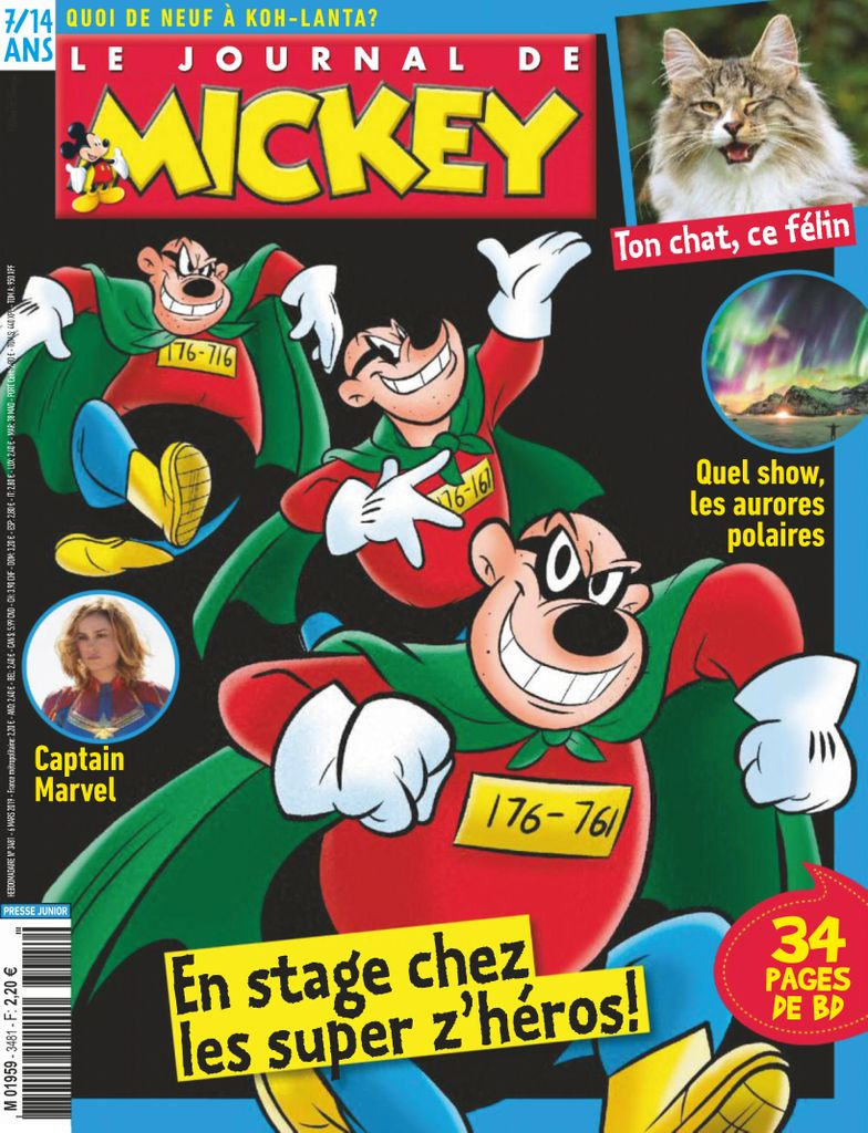 Le Journal de Mickey - 06 mars 2019
