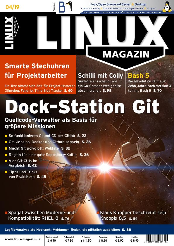 Linux-Magazin – April 2019