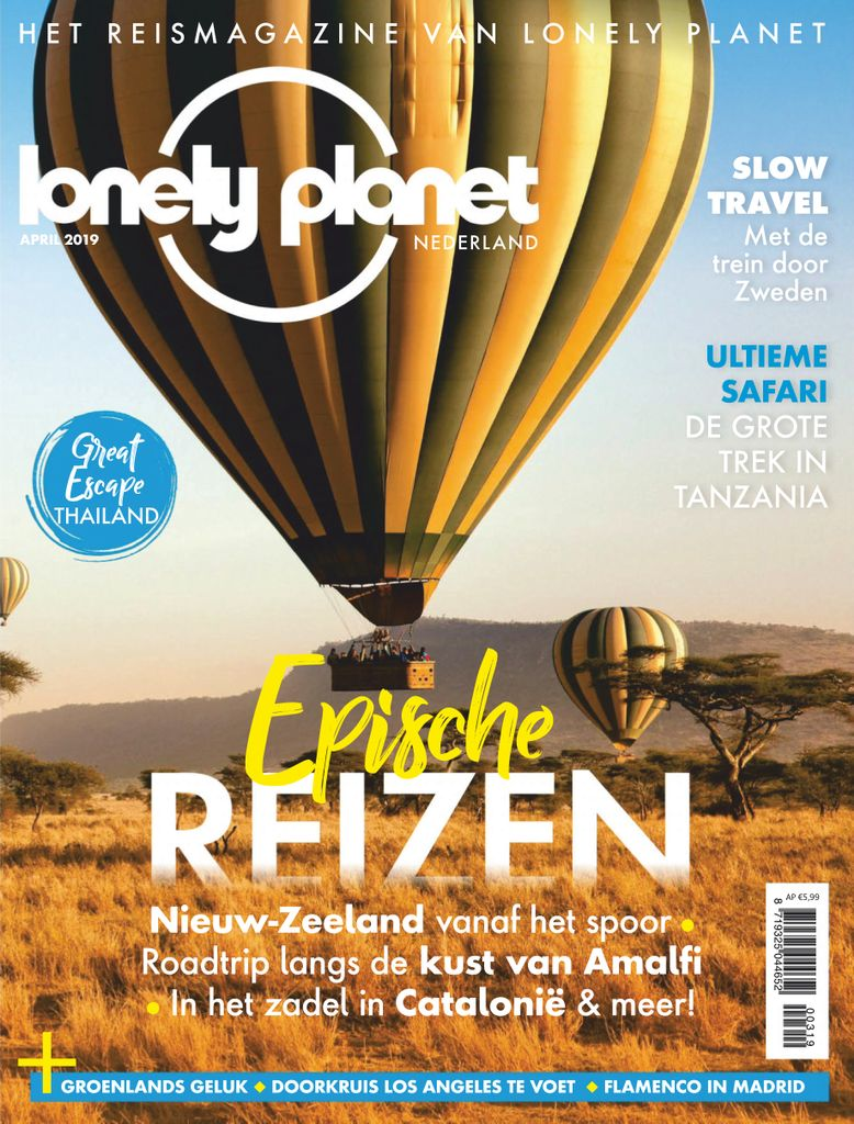 Lonely Planet Traveller Netherlands - april 2019