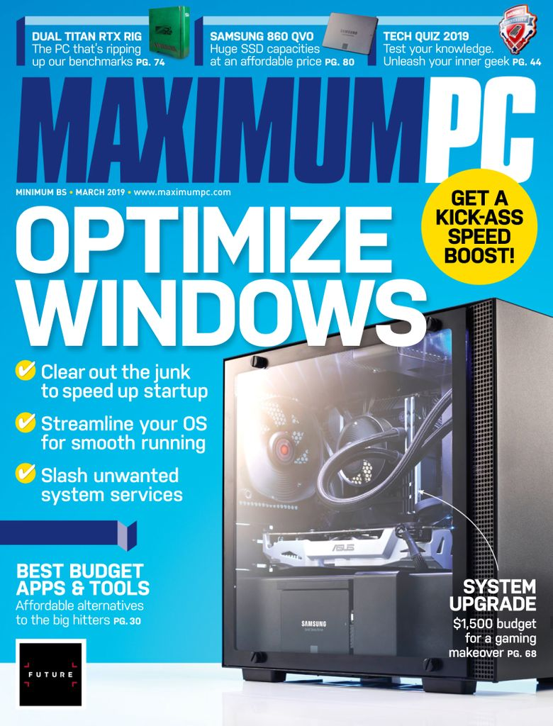 Maximum PC - March 2019