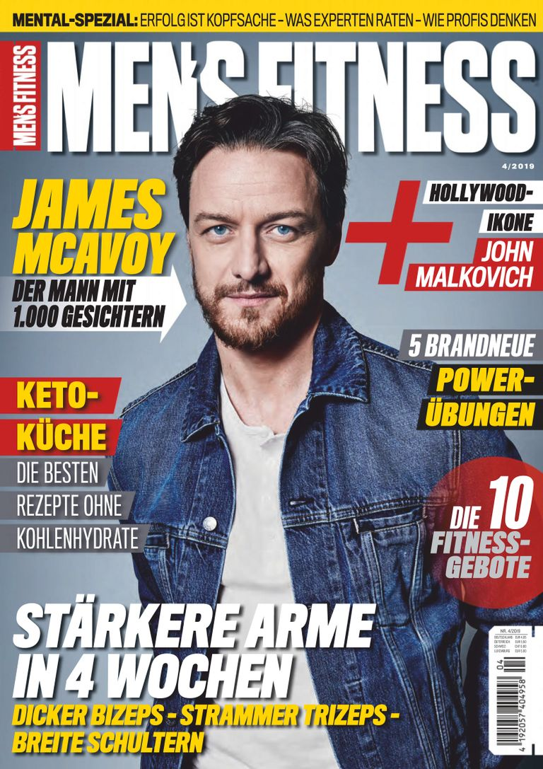 Men's Fitness Germany - April 2019
