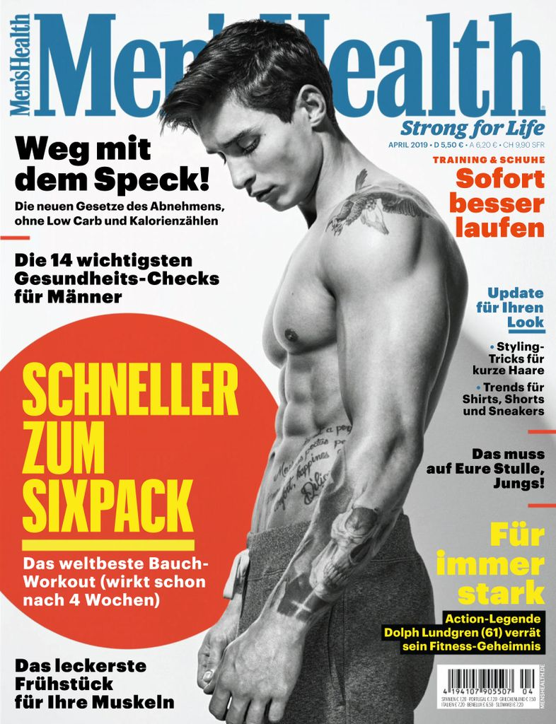 Men's Health Germany - April 2019