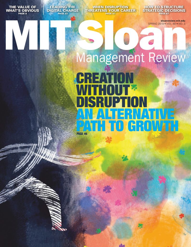 MIT Sloan Management Review - April 2019