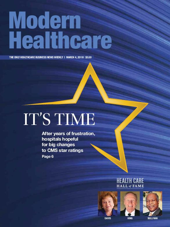 Modern Healthcare – March 04, 2019