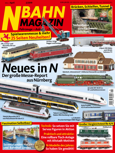 N-Bahn Magazin - März/April 2019