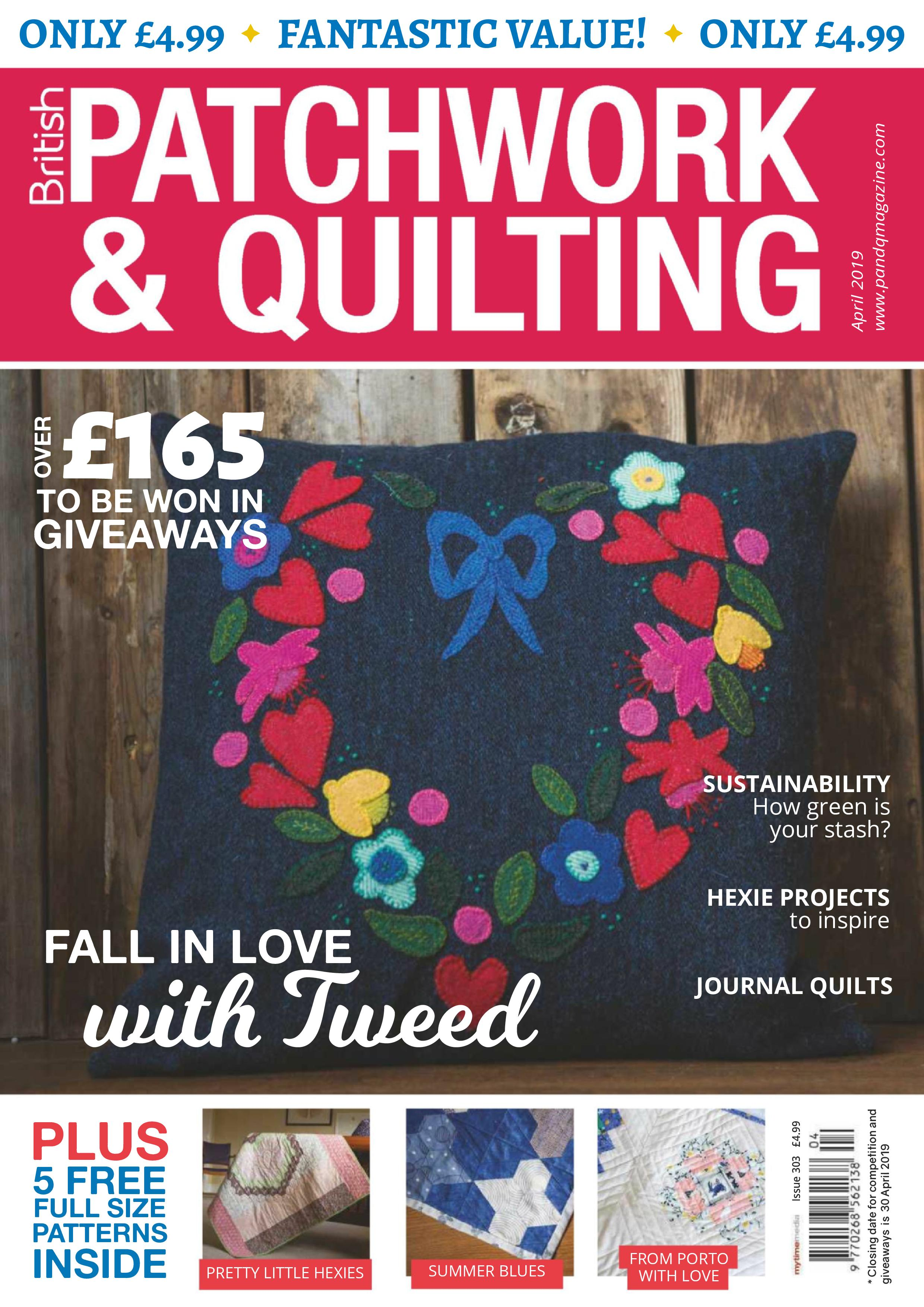 Patchwork & Quilting UK - April 2019