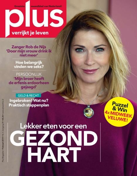 Plus Magazine Netherlands - Februari 2019