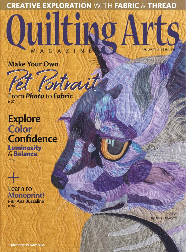 Quilting Arts - March/April 2019