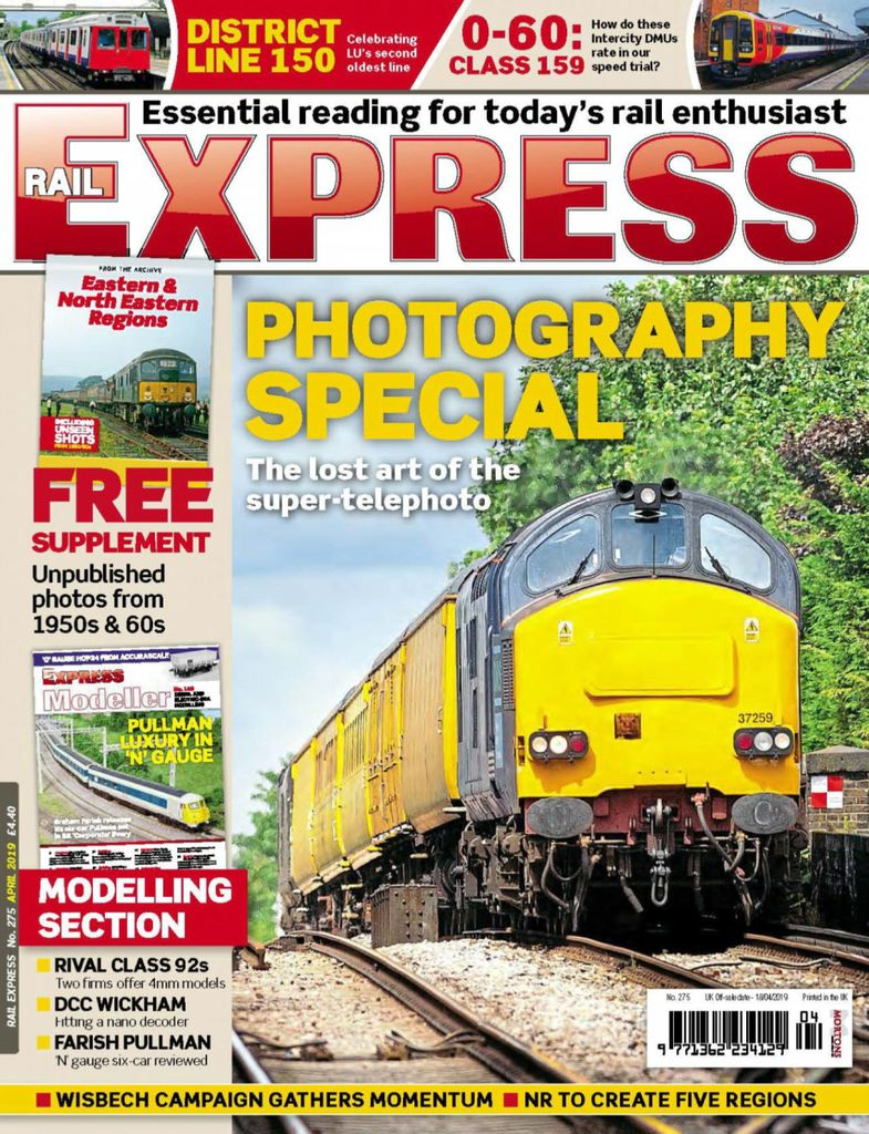 Rail Express - April 2019