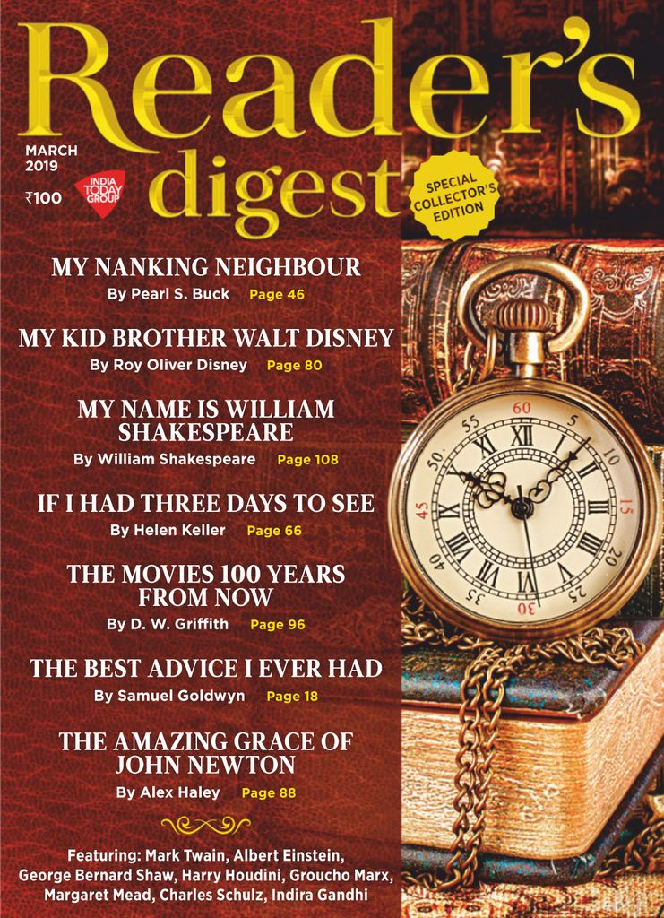 Reader's Digest India - March 2019