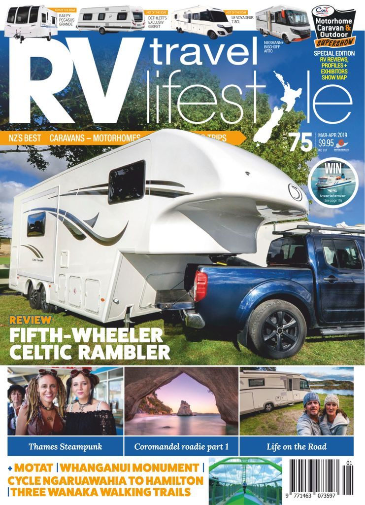 RV Travel Lifestyle - March 2019