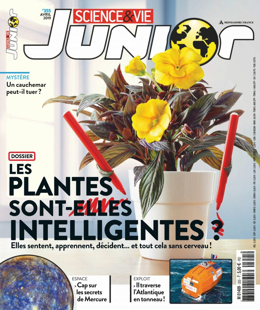 Science & Vie Junior - avril 2019