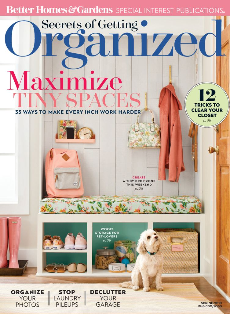 Secrets of Getting Organized – March 2019
