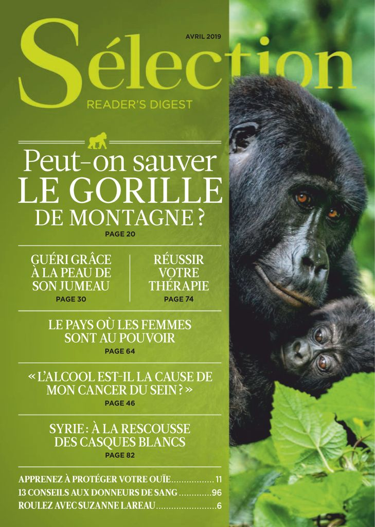 Sélection du Reader's Digest Canada - avril 2019