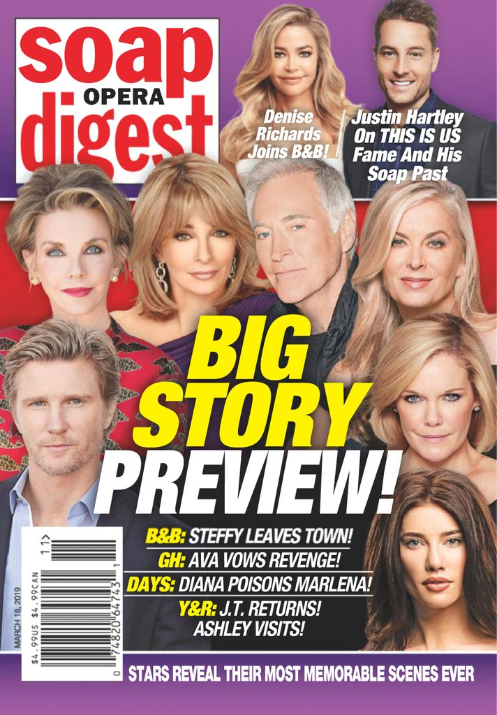 Soap Opera Digest - March 18, 2019