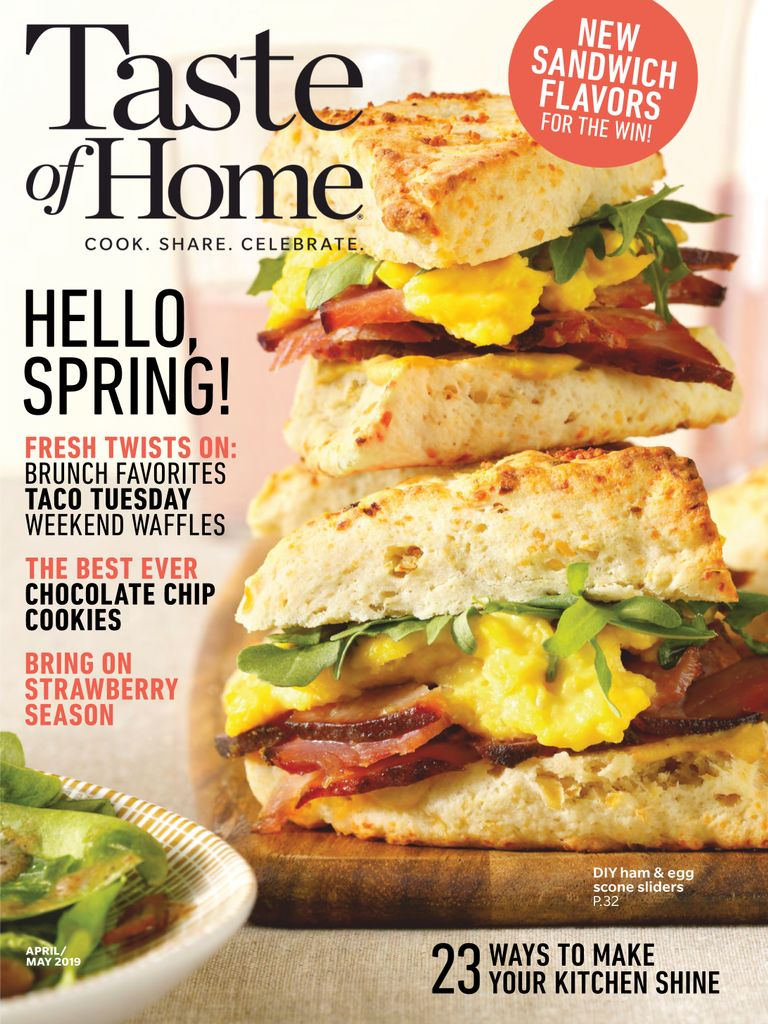 Taste of Home - March 2019