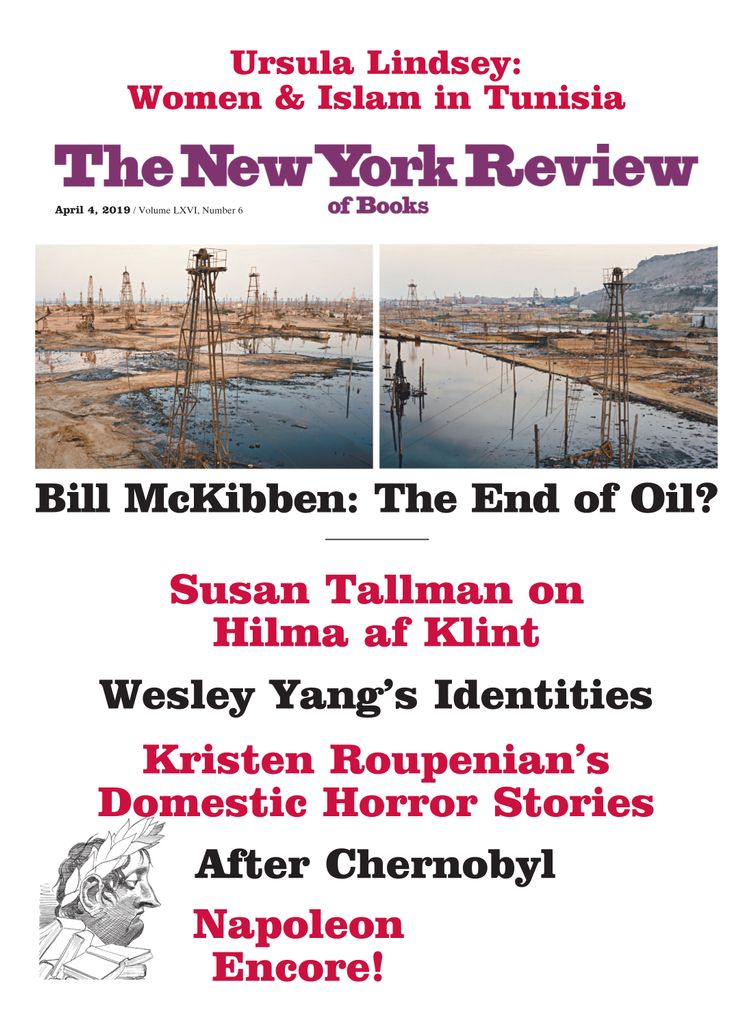The New York Review of Books - April 04, 2019
