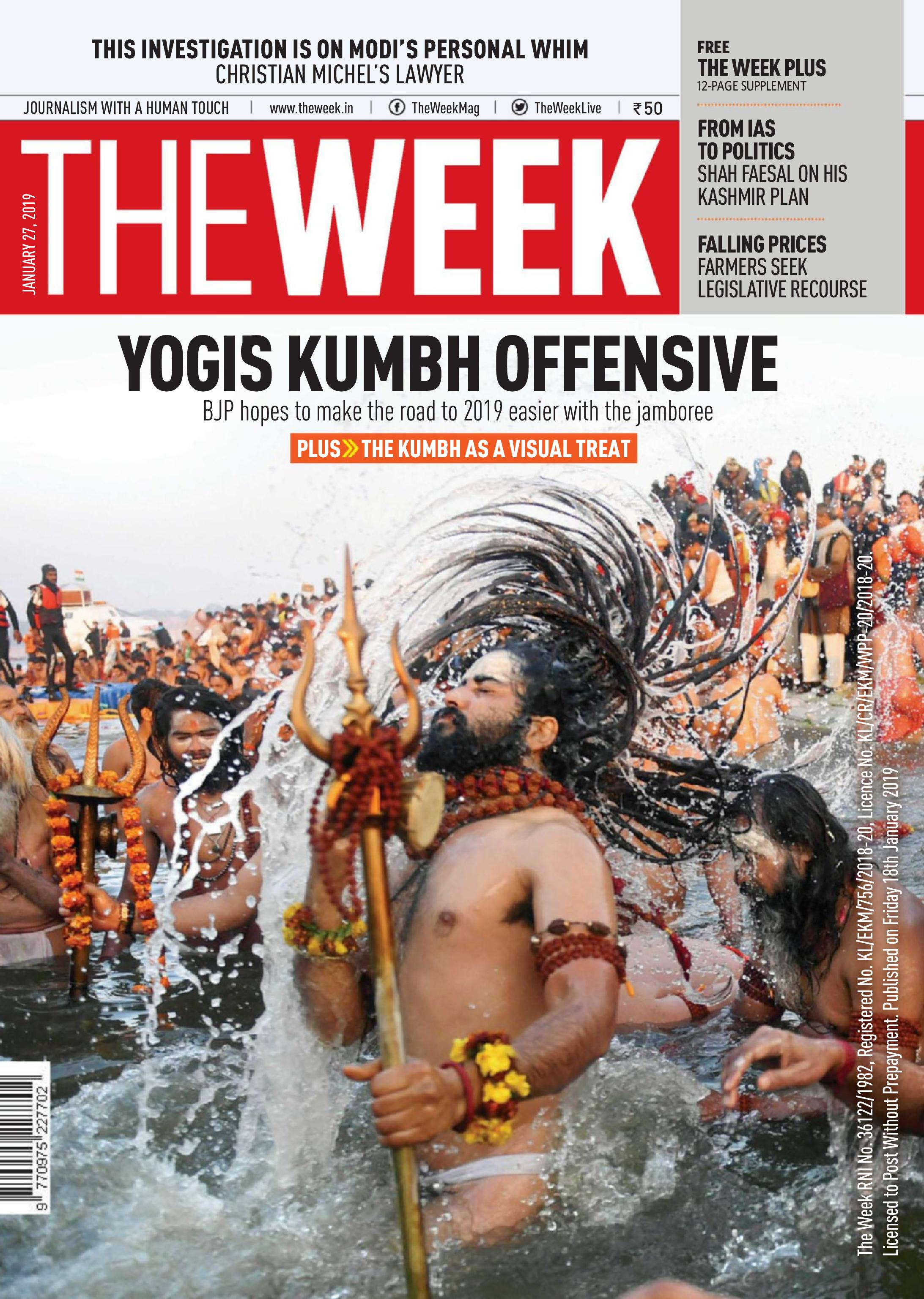 The Week India - January 27, 2019
