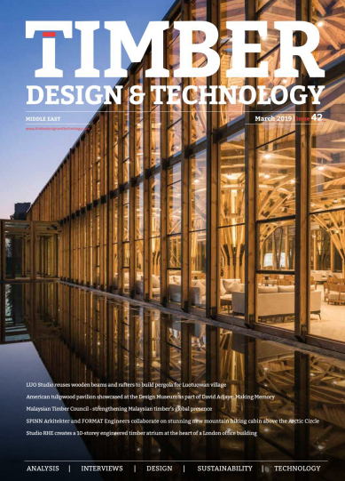 Timber Design & Technology Middle East - March 2019