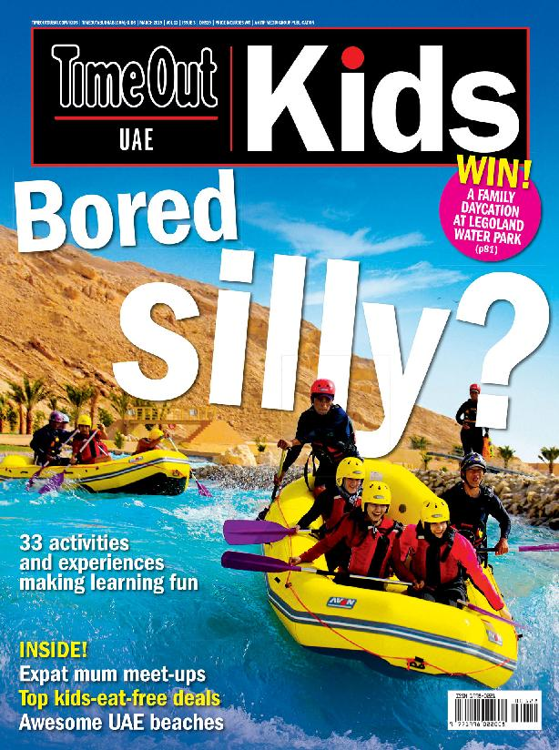 TimeOut Dubai Kids – March 2019