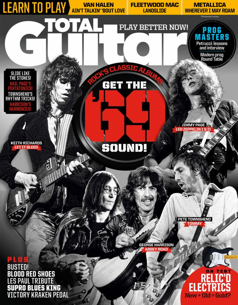 Total Guitar - April 2019