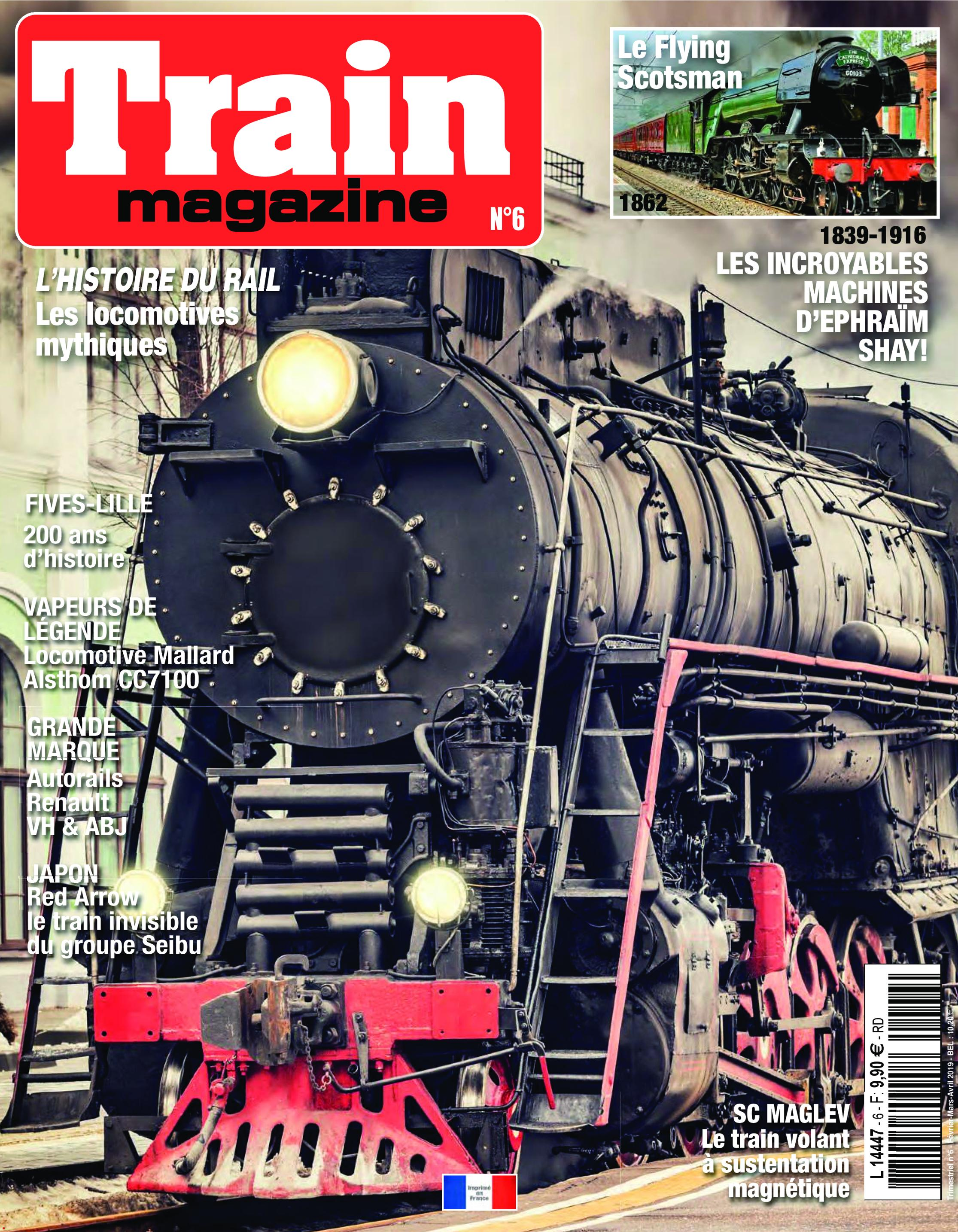 Train Magazine – janvier 2019