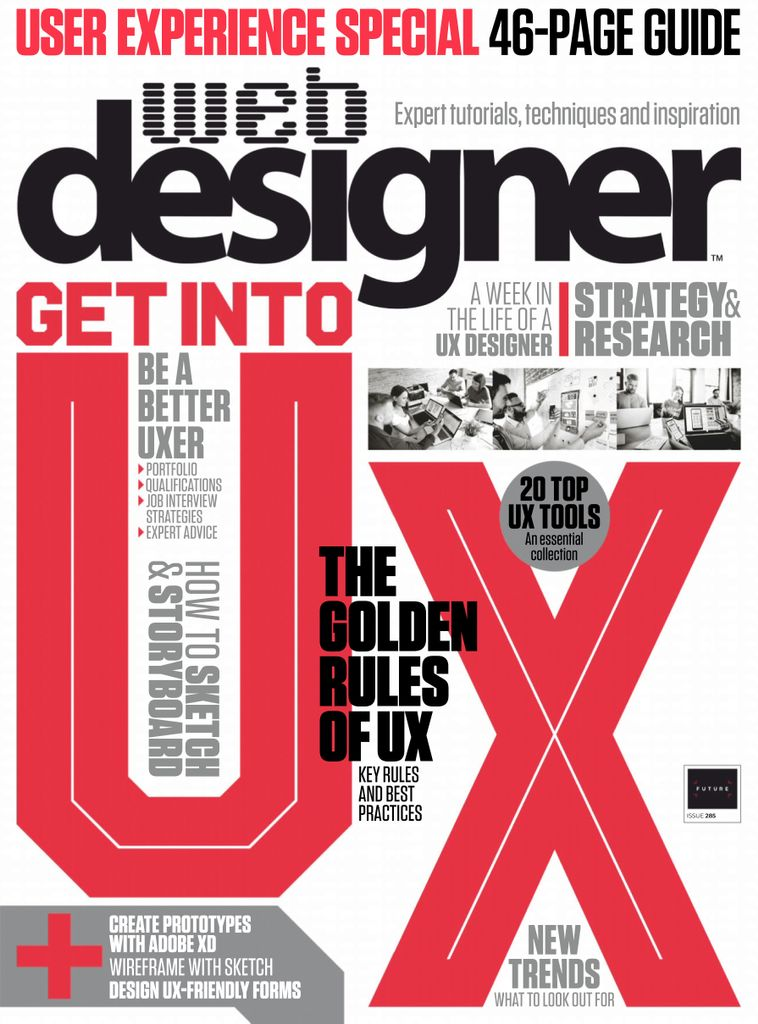 Web Designer UK - April 2019