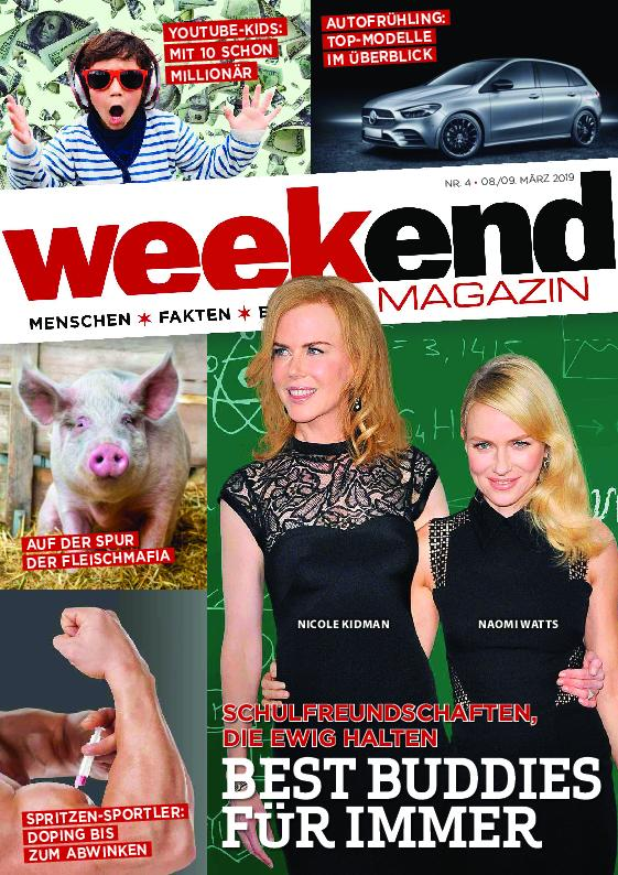Weekend Magazin – 07. März 2019
