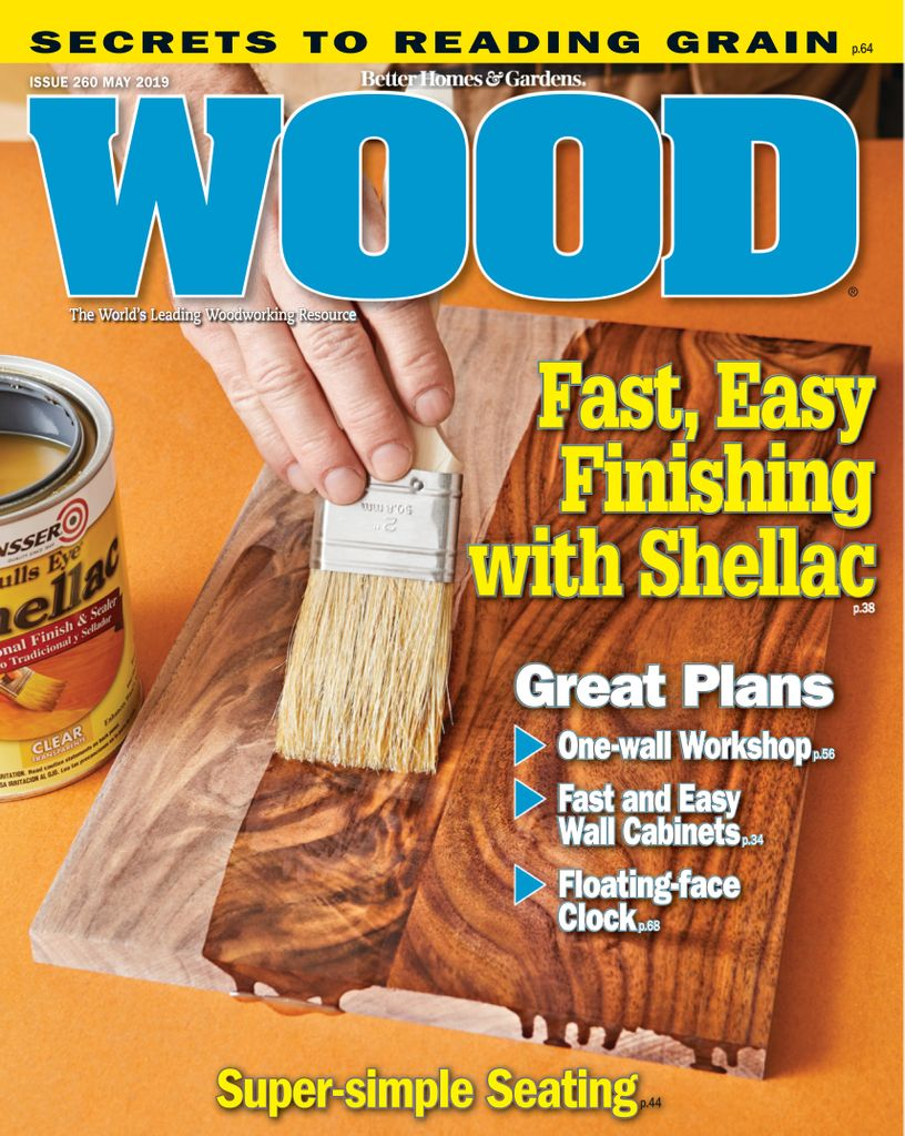 WOOD Magazine - May 01, 2019