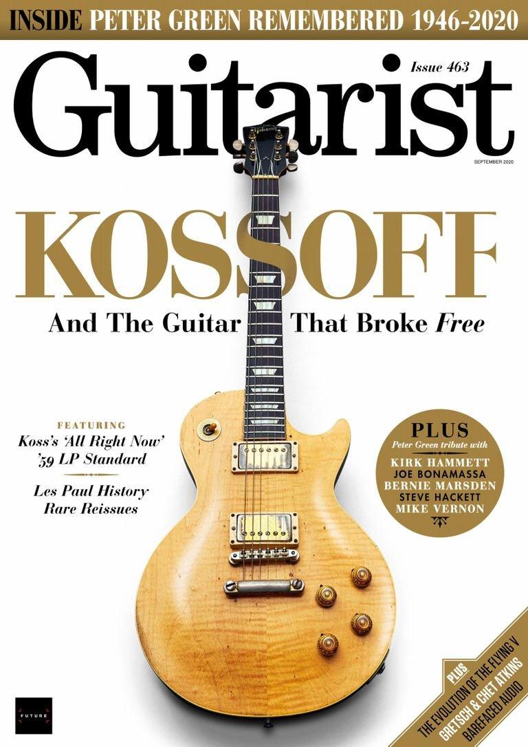 Guitarist - September 2020