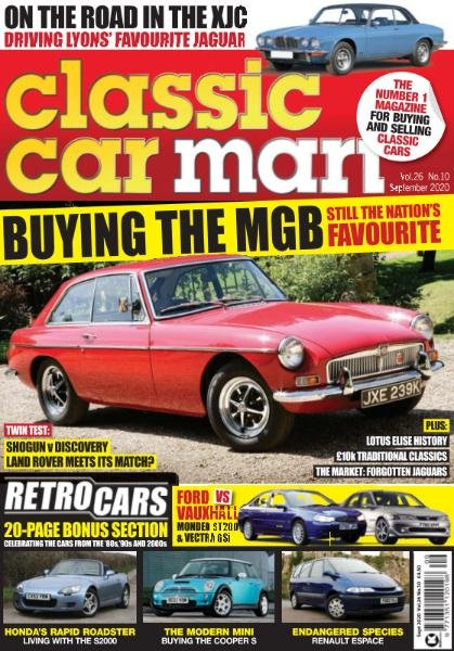 Classic Car Mart - September 2020