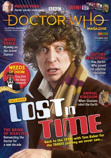 Doctor Who Magazine - Issue 555 - October 2020