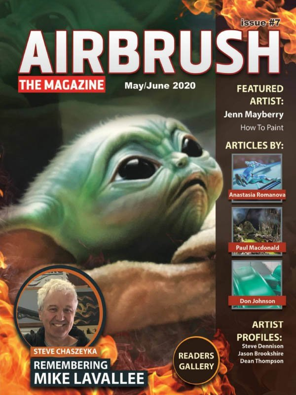 Airbrush The Magazine - Issue 7, May June 2020
