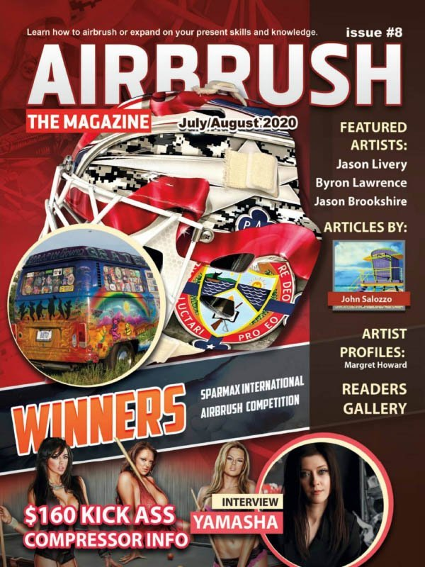 Airbrush The Magazine - Issue 8, July August 2020