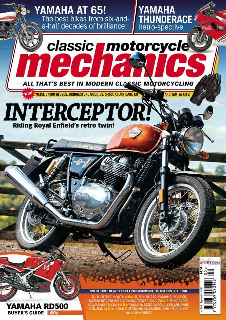 Classic Motorcycle Mechanics - September 2020